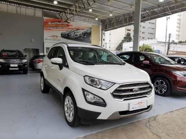 Ford 2018 Ecosport titanium Automatico completa branca apenas 15000 km impecável