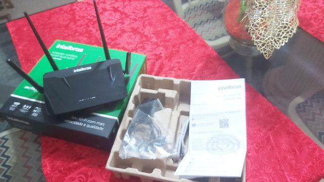 Roteador Intelbras Dual band AC 1200 RF 1200 - 5 Anos de Garantia   - Foto 5