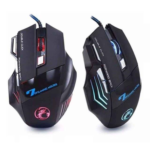Mouse GamerX7 7Botões LED rgb 3600dpi - Foto 2