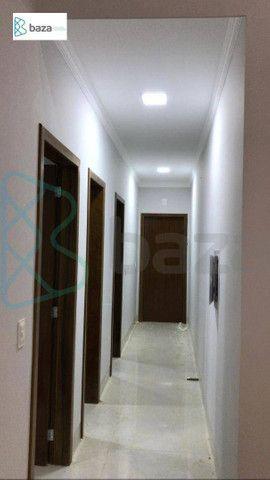 Casa com 3 dormitórios sendo 2 suítes à venda, 183 m² por R$ 830.000 - Residencial Aquarel - Foto 10