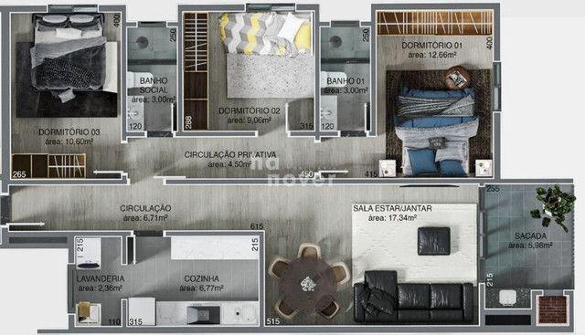 Apartamento 3 dormitórios no Bairro Medianeira - Foto 2