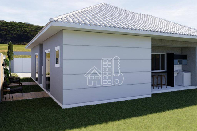 Casa com 3 dormitórios à venda, 100 m² por R$ 495.000,00 - Jardim Atlântico Leste (Itaipua - Foto 12