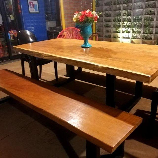 Mesas prancha madeira  - Foto 3