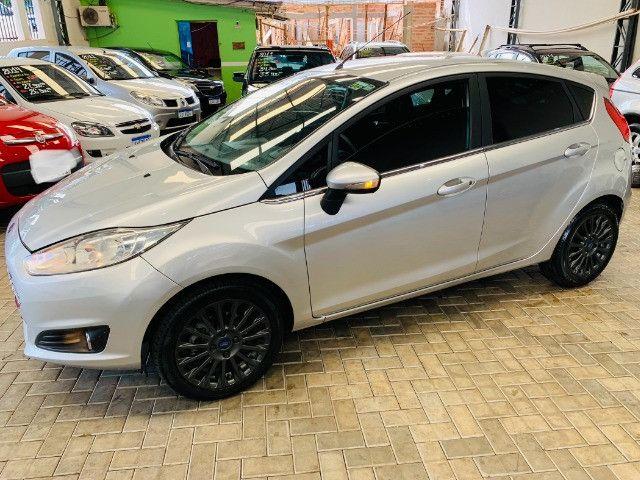 Ford / New Fiesta Titanium Hatch 1.6 Flex (Automático + Couro) - Foto 5