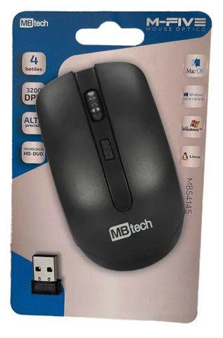 Mouse Sem Fio MBtech Wireless Óptico Recarregável Mac, Windows - Foto 2