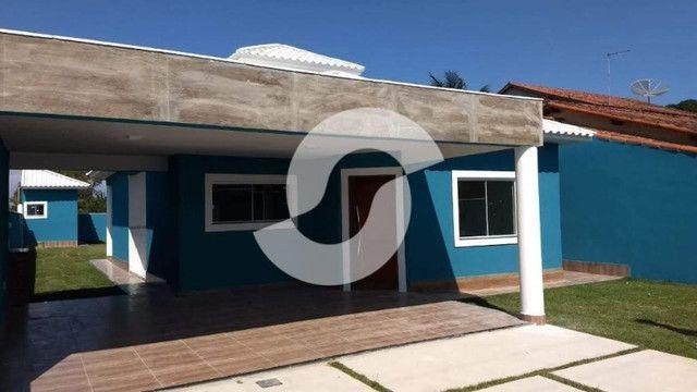 Casa com 3 dormitórios à venda, 151 m² por R$ 550.000,00 - Itaipuaçu - Maricá/RJ