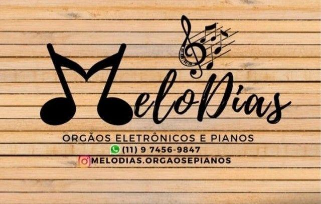 Órgãos eletrônicos e pianos Harmonia - Foto 2
