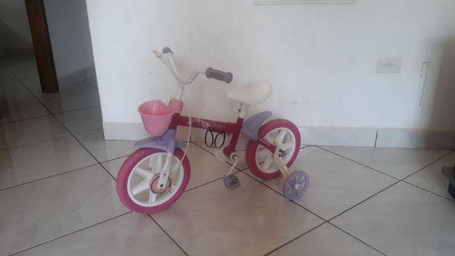 Bicicleta infantil  230.00 reais  - Foto 3