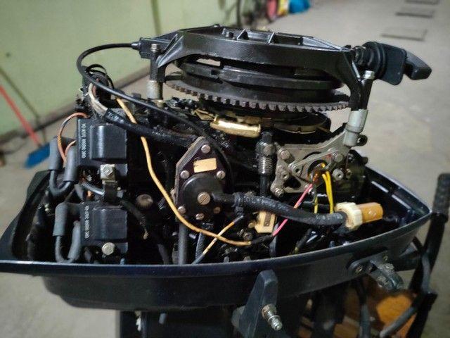 Motor popa Everund 30HP Elétrico  - Foto 12