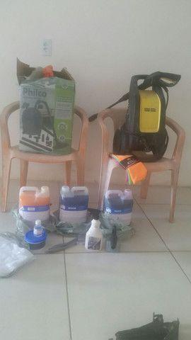 Vendesse kit completo  para lava jato - Foto 6