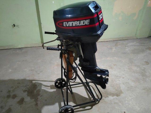 Motor popa Everund 30HP Elétrico  - Foto 3