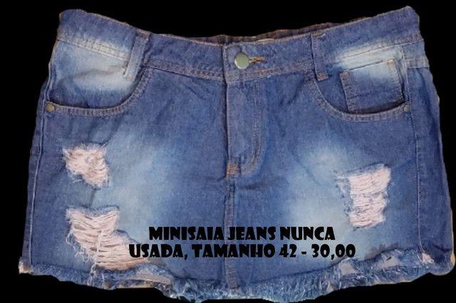 Shorts e Minisaia Diversos - confira os tamanhos - Foto 6