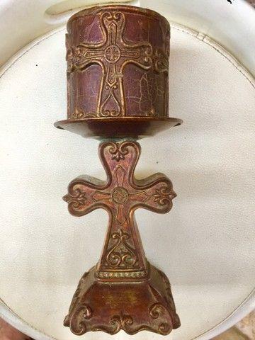 Escultura Vela do Vaticano de 24cm - Foto 2