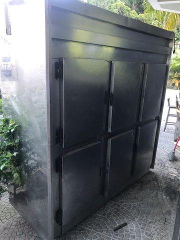 Geladeira freezer Inox 6 portas  - Foto 2