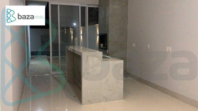 Casa com 3 dormitórios sendo 2 suítes à venda, 183 m² por R$ 830.000 - Residencial Aquarel - Foto 5