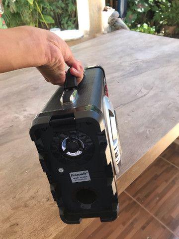 Caixa de som ecopower com microfone e carregador  - Foto 4