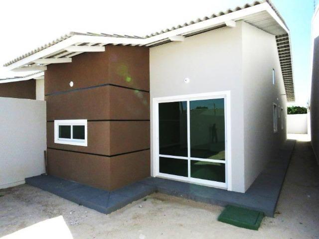 CA0051 - Casa residencial à venda no Eusébio com 90m2 por apenas 270 mil