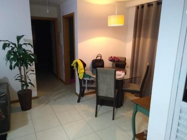 (BM) Apto de 2 dorm. semi-mobiliado, no Residencial Villa Dourada, Bela Vista, em São José - Foto 3