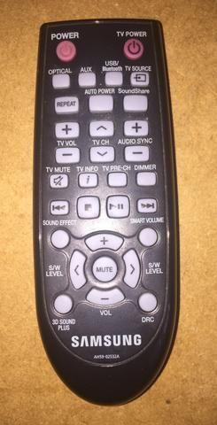 Controle Remoto Original Para Samsung Sound Bar modelo: HW-F 355