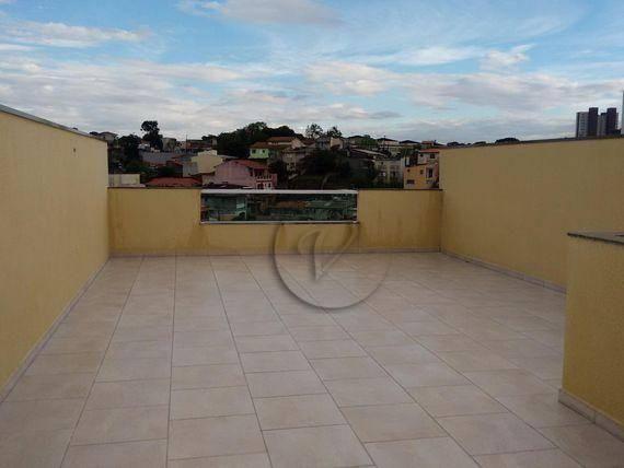 Cobertura residencial à venda, jardim progresso, santo andré - co0121. - Foto 11