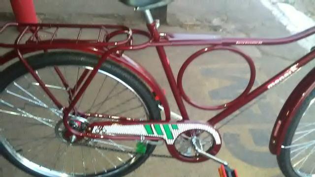 Bicicleta monark barra circular 89