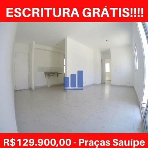 MR- Praças Sauípe, apartamento 2Q com Varanda e Lazer Completo, Pertinho da Praia