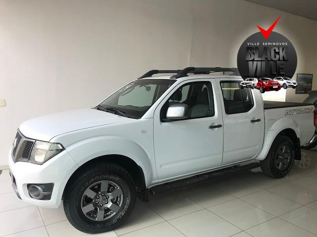Nissan Frontier 2014 2.5 sv attack 4x4 cd turbo eletronic diesel 4p manual