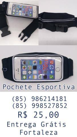 Pochete esportiva para Smartphone. Entrega Grátis em Fortaleza
