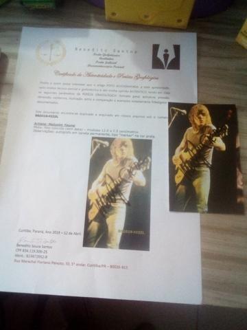 Fotos autografadas com certificados 50,00 cada - Foto 4