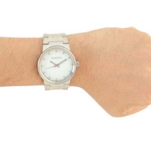Relógio Nixon Cannon prata - Foto 2