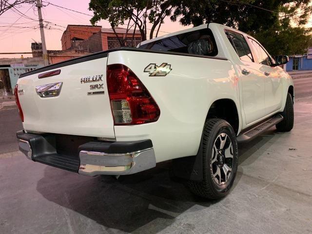 Toyota Hilux SRX 2.8 Branco Perola 2020 0KM - Foto 7