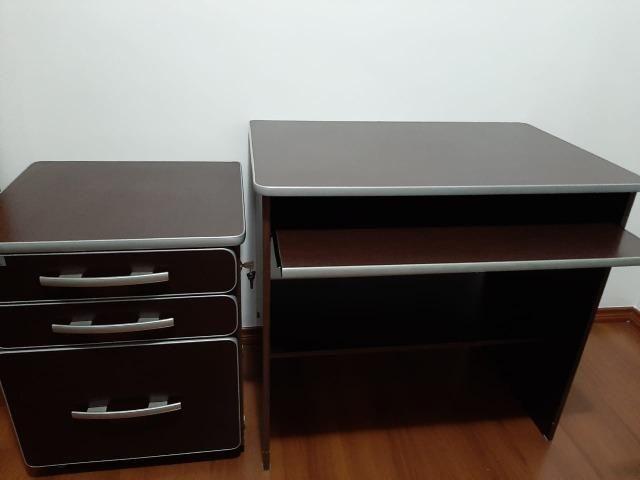 Mesa para computador e móvel com arquivo - Foto 3