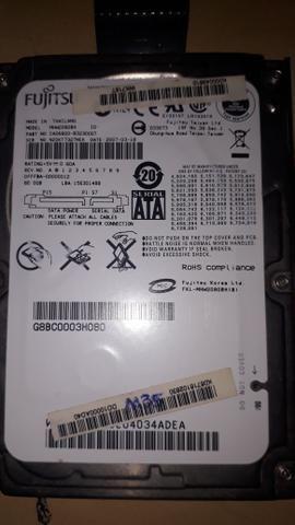 Hard disk western digital, Fujtitsu e Seagate 80gb - Foto 3