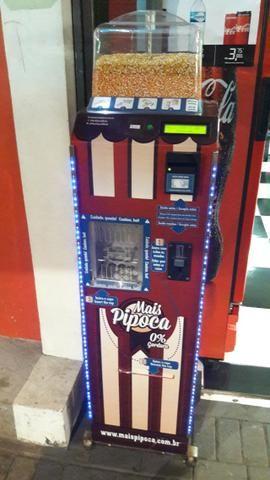 Máquina de Pipoca Automática Mais Pipoca
