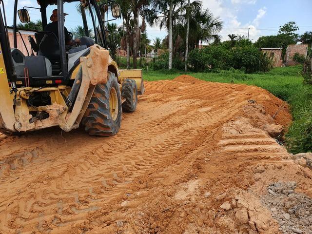Retro Escavadeira Caterpila 416E - Foto 3