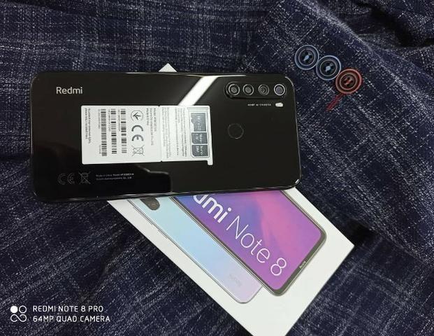 Xiaomi Redmi Note 8 64/4gb Com 6 Meses De Garantia Azul-Preto - Foto 5