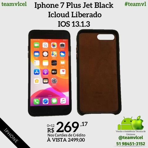 Iphone 7 Plus Jet Black 256gb - Foto 4