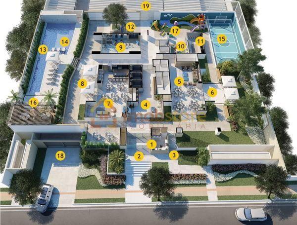Apartamento  com 3 quartos no ED. TALENT - Bairro Fazenda Gleba Palhano em Londrina - Foto 14