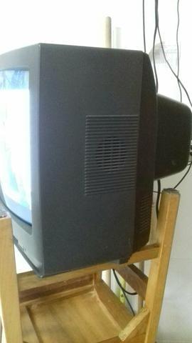 TV de tubo Sanyo 20 polegadas - Foto 4