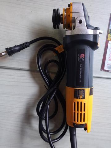 Esmerilhadeira sa tools 110v 115mm