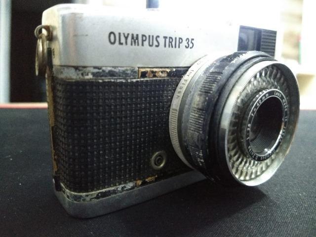 Câmera olimpus trip 34 relíquia funcionando - Foto 6
