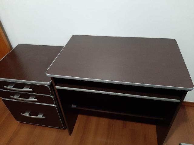 Mesa para computador e móvel com arquivo - Foto 5