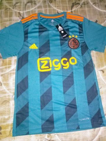 Camisa Oficial do Ajax Verde 19/2020
