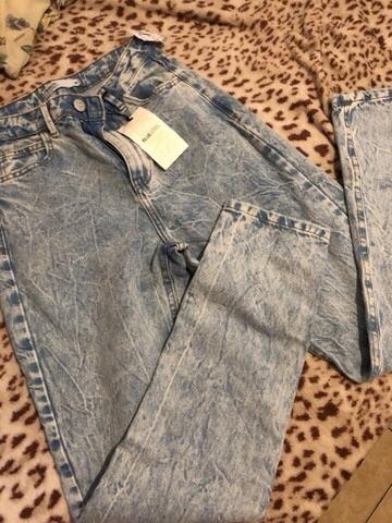 Calça mom jean