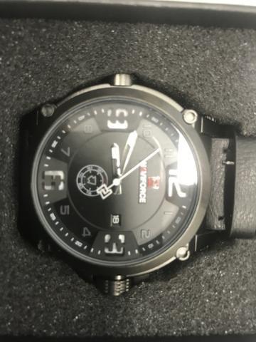 Relógio naviforce novo na caixa modelo 9090 - Foto 4