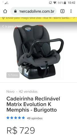 Cadeirinha e Bebê Conforto - Foto 5