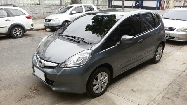 Honda Fit 2014 Lx 1.4 , Completo, Automático,Multimidia, TV, Couro