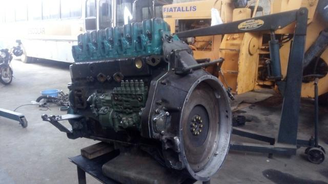 Motor MB O400 449 5 cilindros - Foto 6