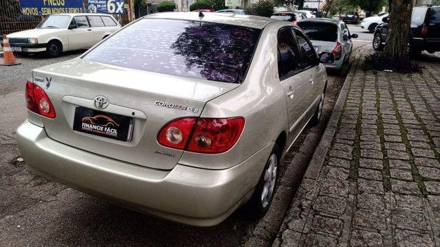 Corolla XEI 1.8 Completíssimo 2006 (S/ Entrada R$: 899,90) Financie Fácil - Foto 7