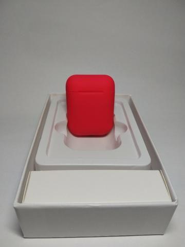 Fone de ouvido Sem Fio Vermelho Bluetooth - Foto 3